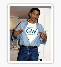 Obama GW Sticker