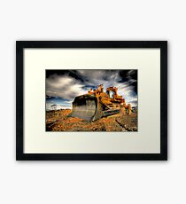 Big Dozer Framed Print