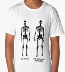 Ehlers Danlos Skeleton Long T-Shirt