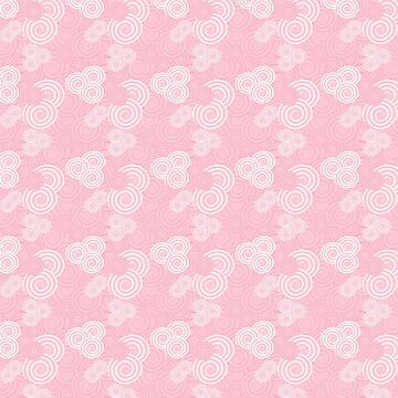 Swirls in Pink and White by keltickat