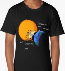 Excuse Me Total Solar Eclipse August 21 2017 Long T-Shirt