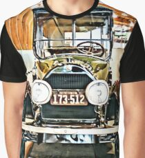 1918 Cadillac Limousine With NY Name On License Graphic T-Shirt