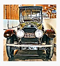 1918 Cadillac Limousine With NY Name On License Photographic Print