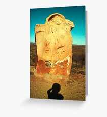 mother and child ..... desert dwellers Greeting Card