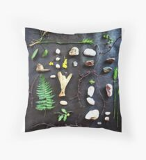 Treasures from the Forest Throw Pillow