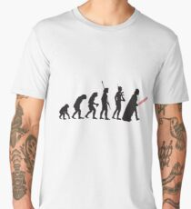 Pop Art - Star Wars Evolution Men's Premium T-Shirt