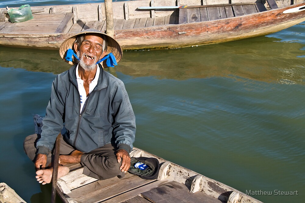 Old Man River (Hoi An, Viet Nam) by Matthew Stewart