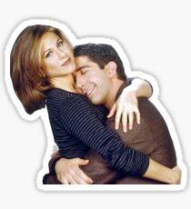 Ross Rachel Friends TV  Sticker
