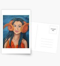 ARIES SUN, LIBRA RISING, SCORPIO MOON Postcards