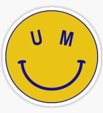 Mich Smiley Sticker