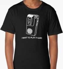 Saw Movie Tape Recorder Long T-Shirt