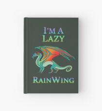 Ich bin ein Lazy RainWing Notizbuch