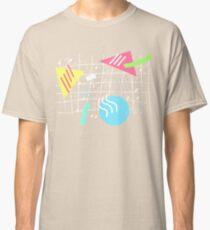 Memphis Style Vibes (Dark) Classic T-Shirt