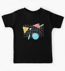Memphis Style Vibes (Dark) Kids Clothes