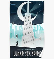 Steven Universe Lunar Sea Spire Poster