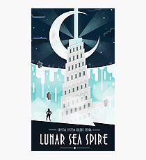 Steven Universe Lunar Sea Spire Photographic Print