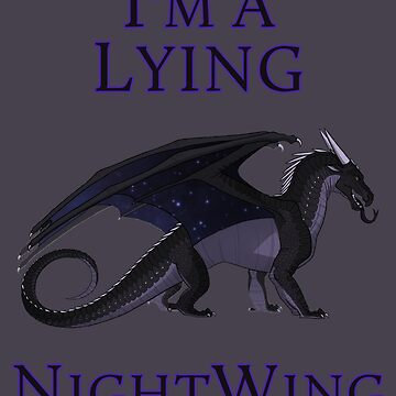 I'm a Lying NightWing by VibrantEchoes