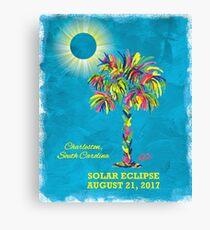 Solar Eclipse 2017 - South Carolina Canvas Print