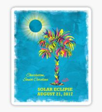 Solar Eclipse 2017 - South Carolina Sticker