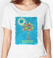 Solar Eclipse 2017 Women's Relaxed Fit T-Shirt