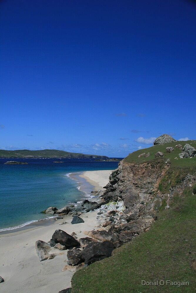 Inishbofin Beach by Donal Faogain