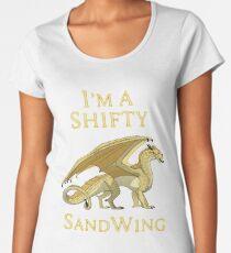 Ich bin ein Shifty SandWing Frauen Premium T-Shirts