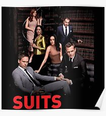 suits posters redbubble
