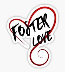Foster Love Sticker