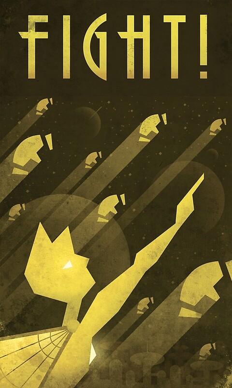 An Art Deco-style Homeworld propaganda poster of Yellow Diamond from Steven Universe. • Buy this artwork on stationery and wall prints.