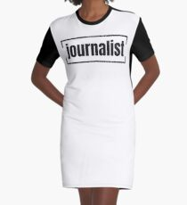 JOURNALIST Graphic T-Shirt Dress