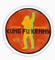 Kung Fu Kenny Sticker