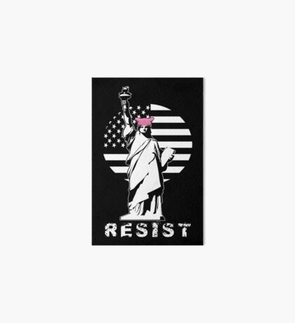 Lady Liberty Pink Protest Art Board