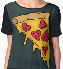 Pizza Love Chiffon Top