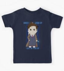 When I grow up, I will be a Doctor Kids T-Shirt