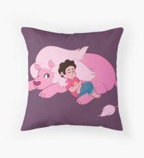 Cat Naps Throw Pillow
