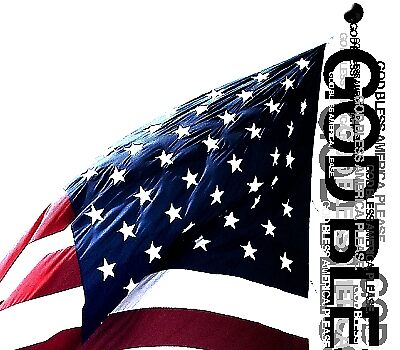 DETAIL SHOT 400x350 - GOD BLESS AMERICA PLEASE by webart