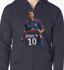 Sudadera con capucha y cremallera Neymar PSG