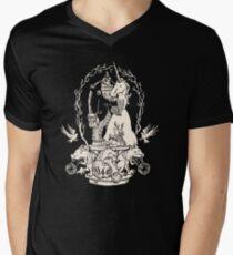 Bigfoot's Big Day : Groomsmen's Edition Men's V-Neck T-Shirt