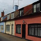 Cottages, Church Street , Southwold by wiggyofipswich