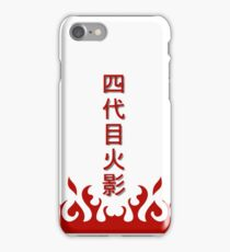 Yondaime Hokage iPhone Case/Skin