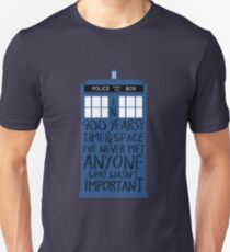 Doctor Who - 900 Years of Time & Space T-Shirt