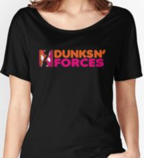 DUNKS N' FORCES Women's Relaxed Fit T-Shirt