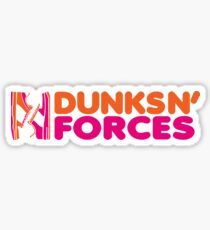 DUNKS N' FORCES Sticker