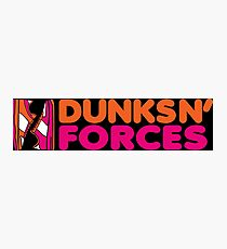 DUNKS N' FORCES Photographic Print