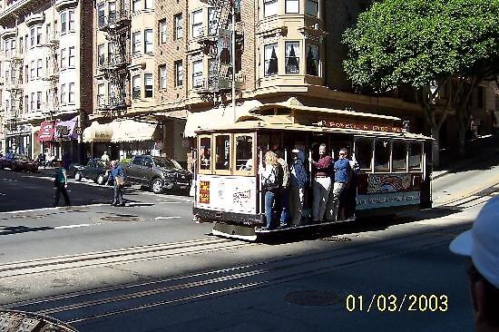 Cable car at San Francisco, usa by chord0