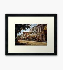 Old Sacramento Framed Print