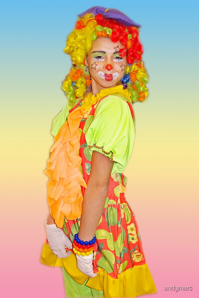 Colorful Clown by andymars