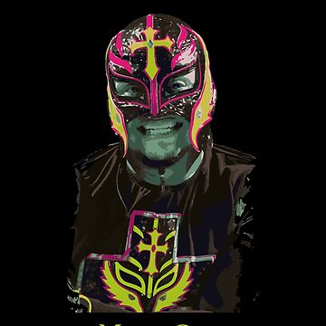 Mask Off Rey Mysterio by Gimmedis