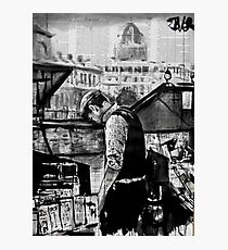 the book seller Photographic Print