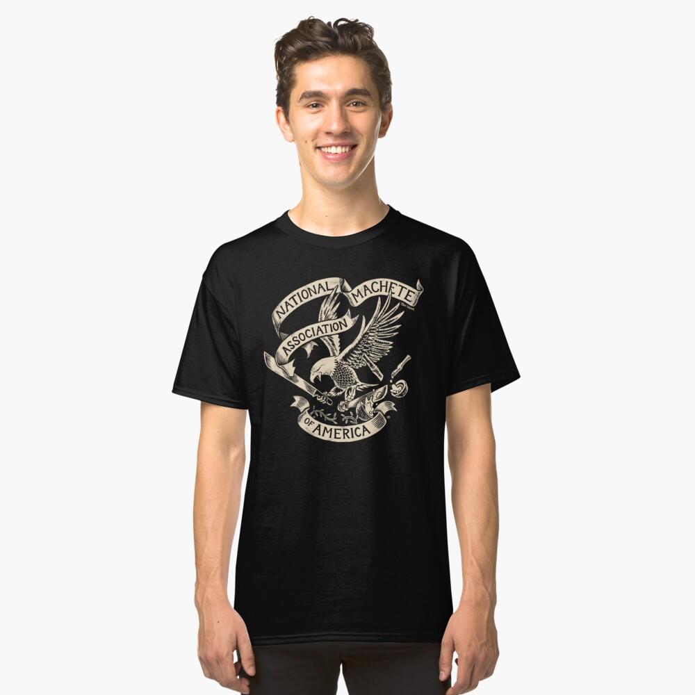 National Machete Association - Official Seal Classic T-Shirt Front